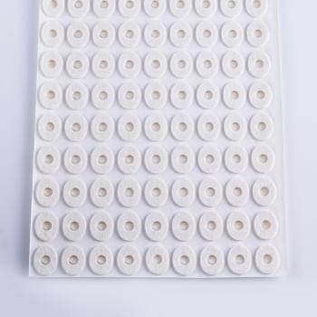 Oval felt pad S size - 1 leht