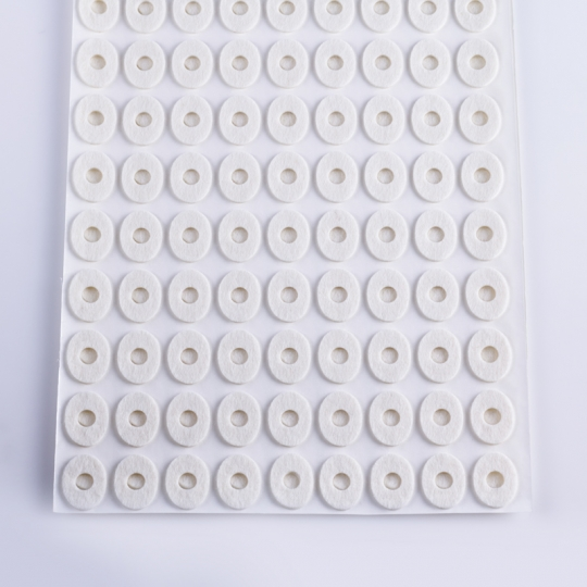 Oval felt pad S size -1 sheet