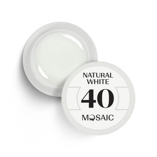 40. Natural white
