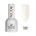 Milky white gel polish 15 ml