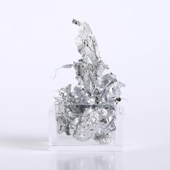 Silver foil leaf