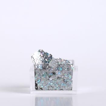 Silver holo foil flakes