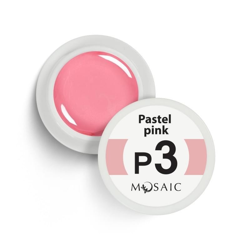 P3. Pastel pink