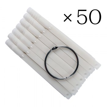 Tip sticks valge 50 tk