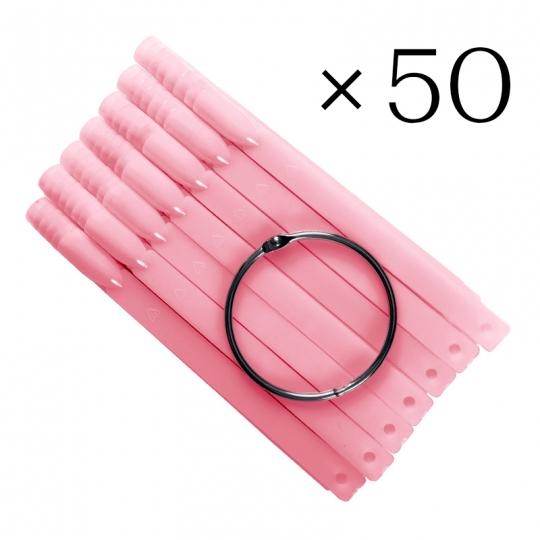 Типсы розовые 50 шт
