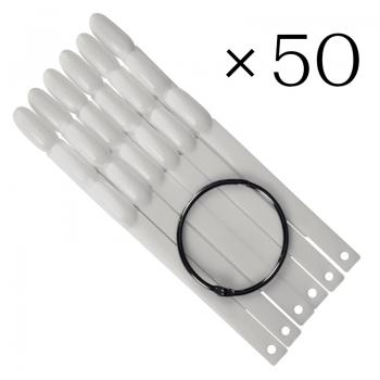 Tip sticks ovaal 50 tk