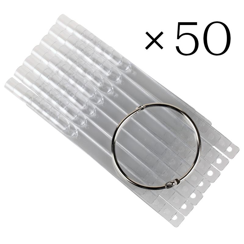 Tip sticks clear 50 tk
