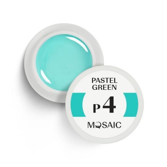 P4. Pastel green