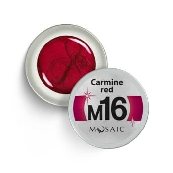M16. Carmine red