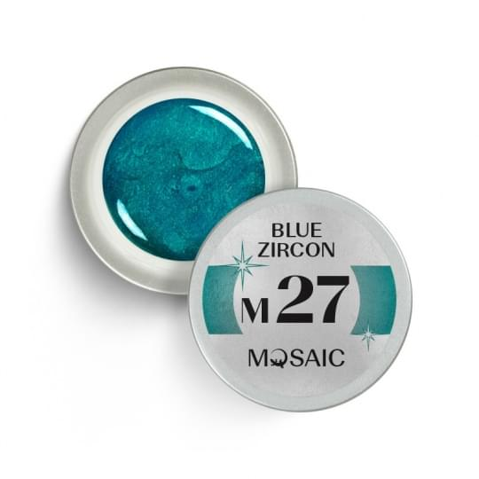 M27. Blue Zircon