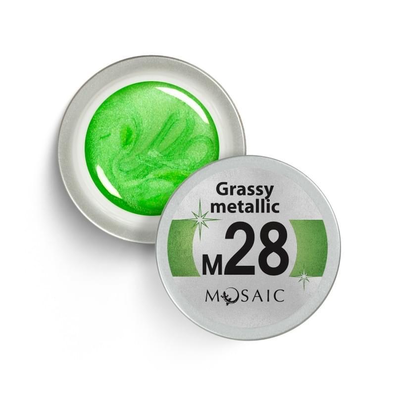 M28. Grassy Metallic