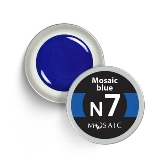 N7. Mosaic blue