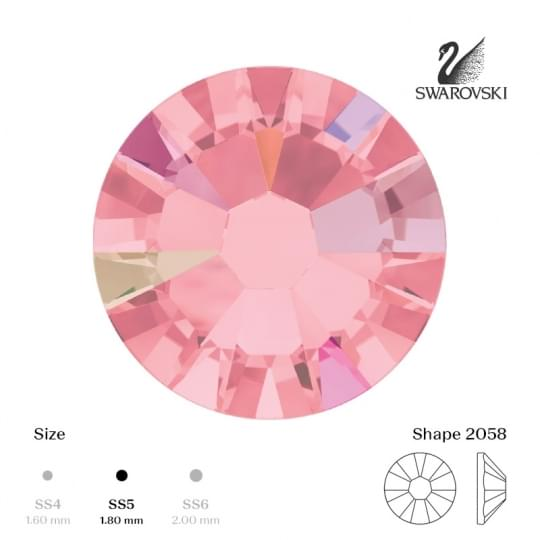 SS5 Light Rose AB
