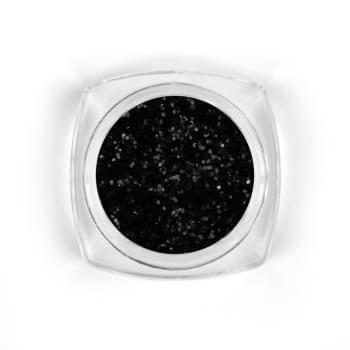 Black snow glitter