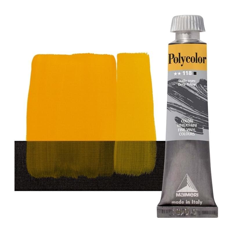 nr.118 Темно желтый