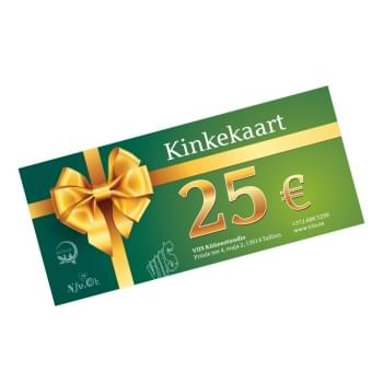 25€ Gift certificate