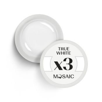 x3. True white